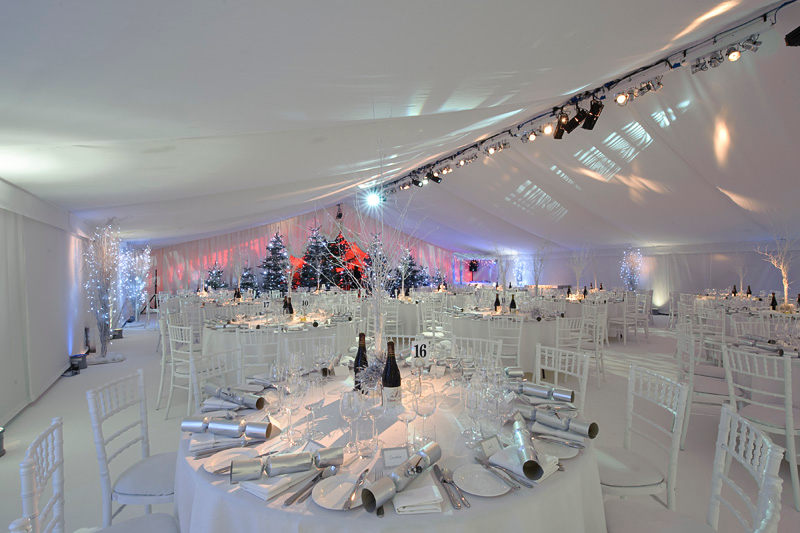 Winter Wonderland Themed Christmas Party